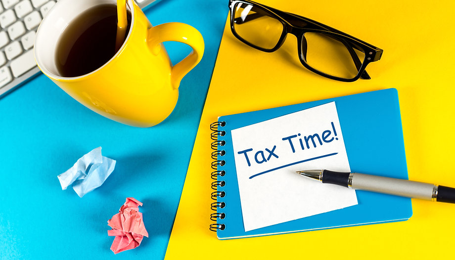 Tax time - Notification of the need to f
