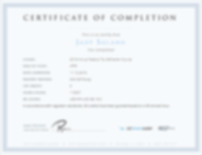 AFTR Course Certificate.png