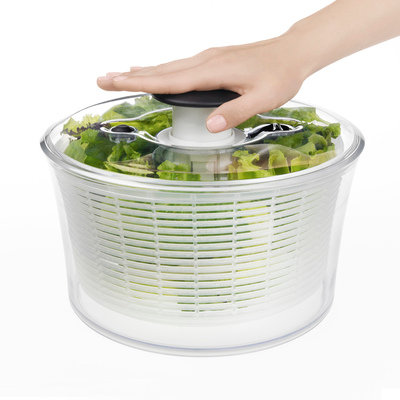 New Large Clear Salad Spinner