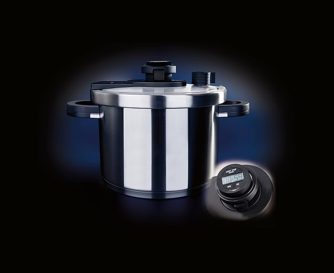 "BRK Germany Alfa 9 liters Diameter 24 c""m Multi-function  Pressure Cooker"