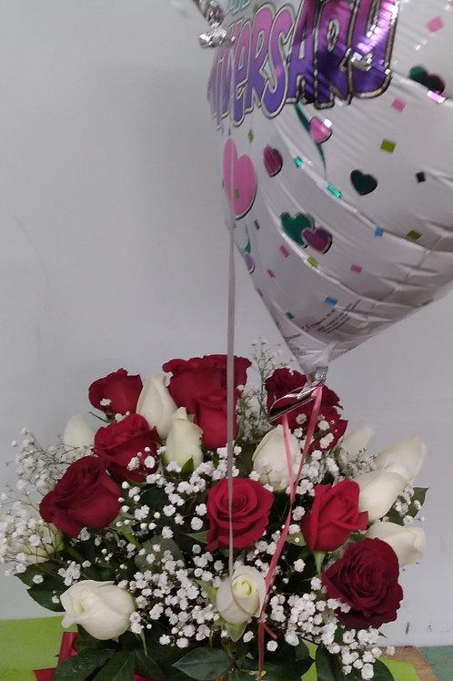 Roses celebrate