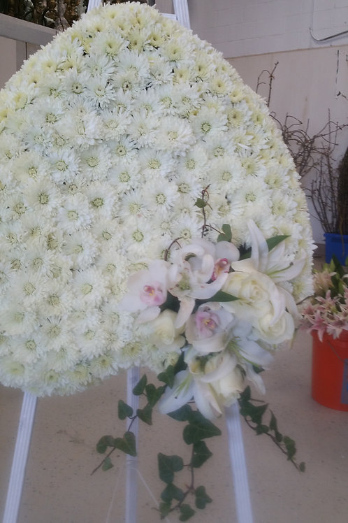 heart shape funeral