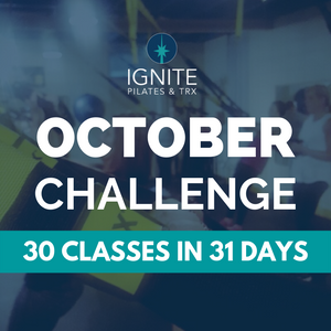 Ignite Pilates October Challenge Gillette Wyoming