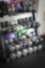 Weight training equipment at Ignite Pilates in Gillette, Wyoming