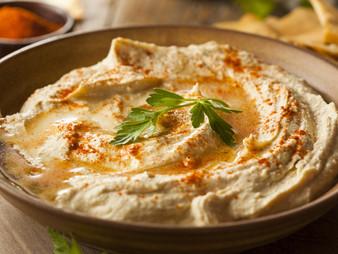 Receta: Hummus con aceite de aguacate