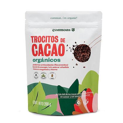 Trocitos de Cacao Orgánico 200g