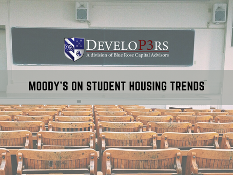'As It Happens' Newsletter - Moody's On Student Housing Trends