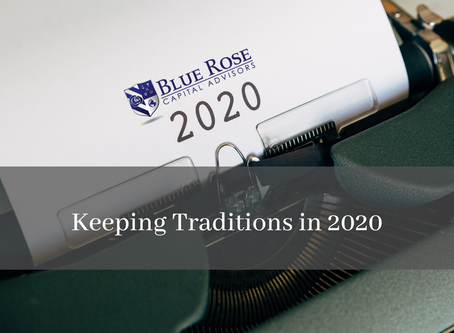 Keeping Traditions in 2020