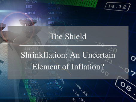 Shrinkflation: An Uncertain Element of Inflation?