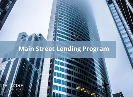 The Shield: Main Street Lending Program