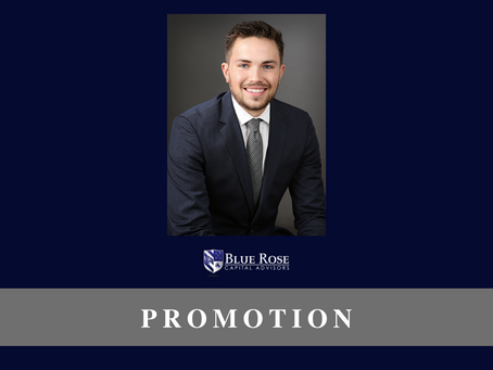 Blue Rose's Brandon Lippold, promoted to Assistant Vice President