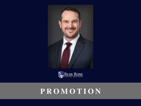 Blue Rose's Scott Talcott, promoted to Senior Vice President