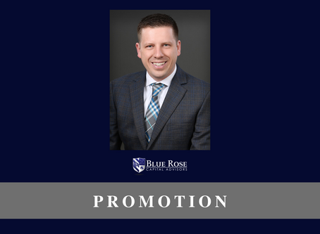 Blue Rose's Justin Krieg promoted to Senior Vice President