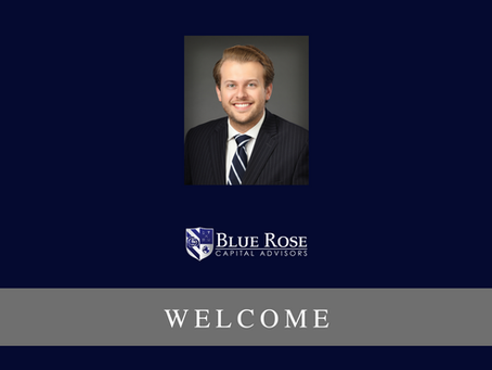 Ben Pietrek joins Blue Rose Capital Advisors as Analyst