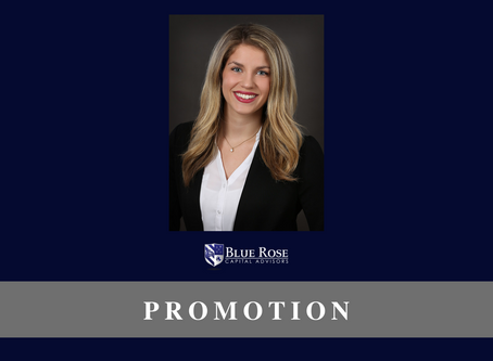 Blue Rose's Georgina Walleshauser, promoted to Associate