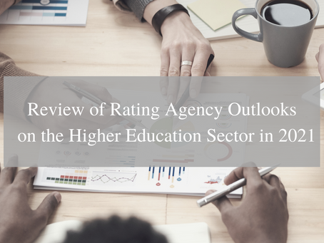 Review of Rating Agency Outlooks on the Higher Education Sector in 2021