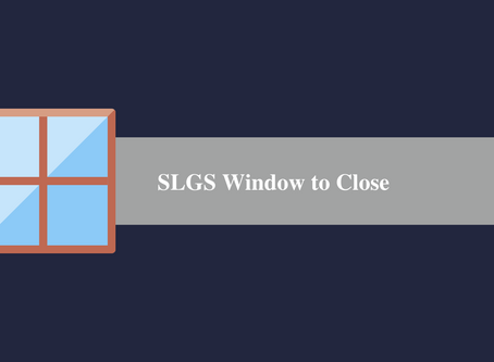 SLGS Window to Close in March