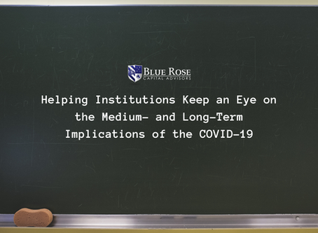 Helping Institutions Keep an Eye on the Medium- and Long-Term Implications of the COVID-19