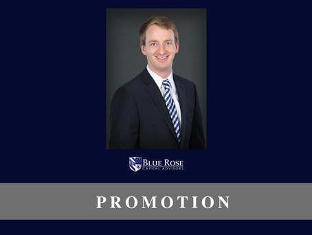 Blue Rose's Max Wilkinson, promoted to Associate