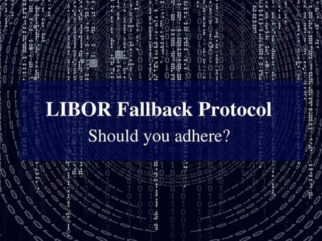 Basis Points: LIBOR Fallback Protocol – Should you adhere?