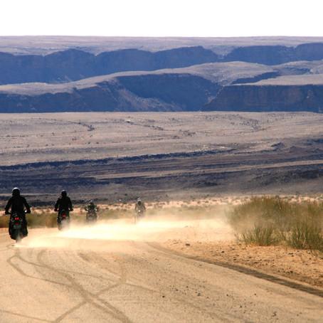 western cape and namibia bike tour