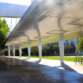 Civic District in Santa Monica, Californ