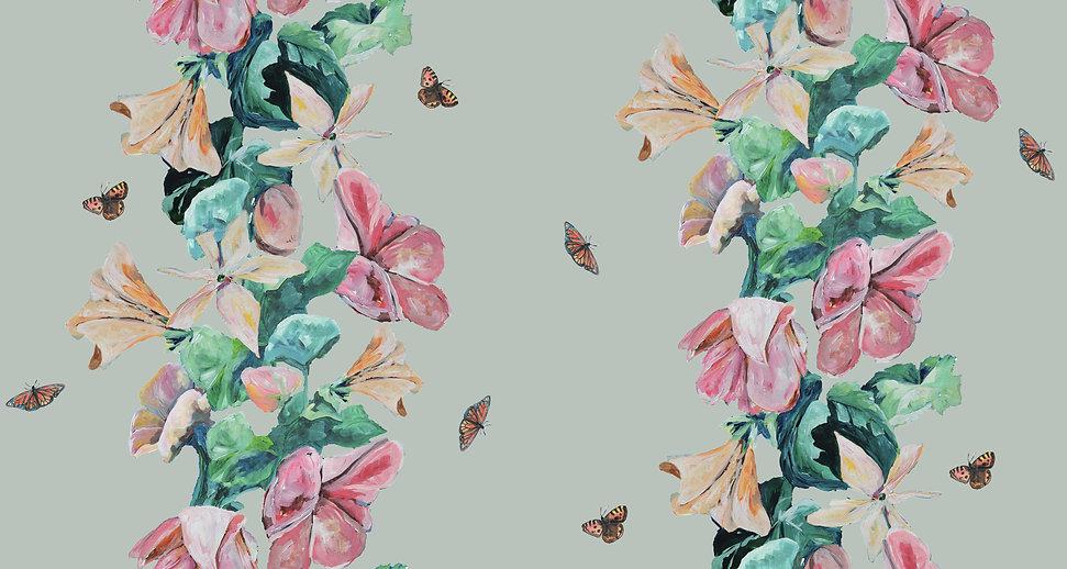 FINAL NEW 2 rows butterflies, Different,