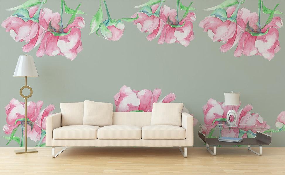 sofa and watercolour roses.jpg