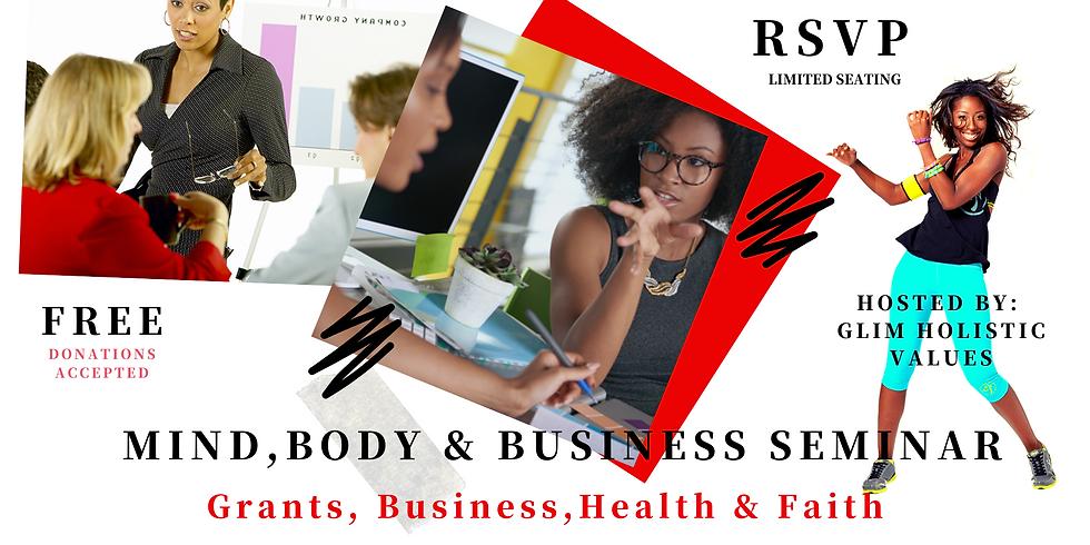 Business 101 Seminar