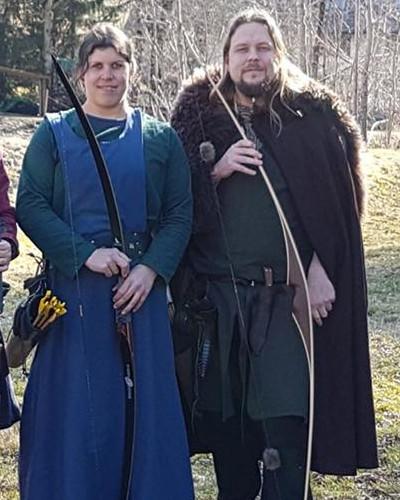Die Wilde Krimhilde & Jarl von Grenc