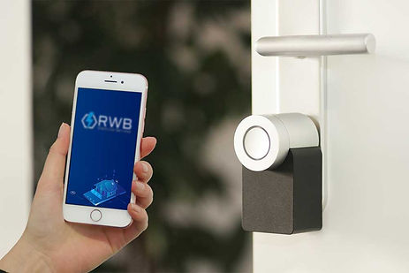 RWB Electrical Services smart home installation of thermostat and iphone app