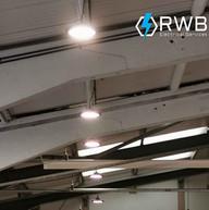 Commercial-pendant-lighting-installation