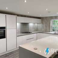Recessed-lighting-installed-in-new-kitch