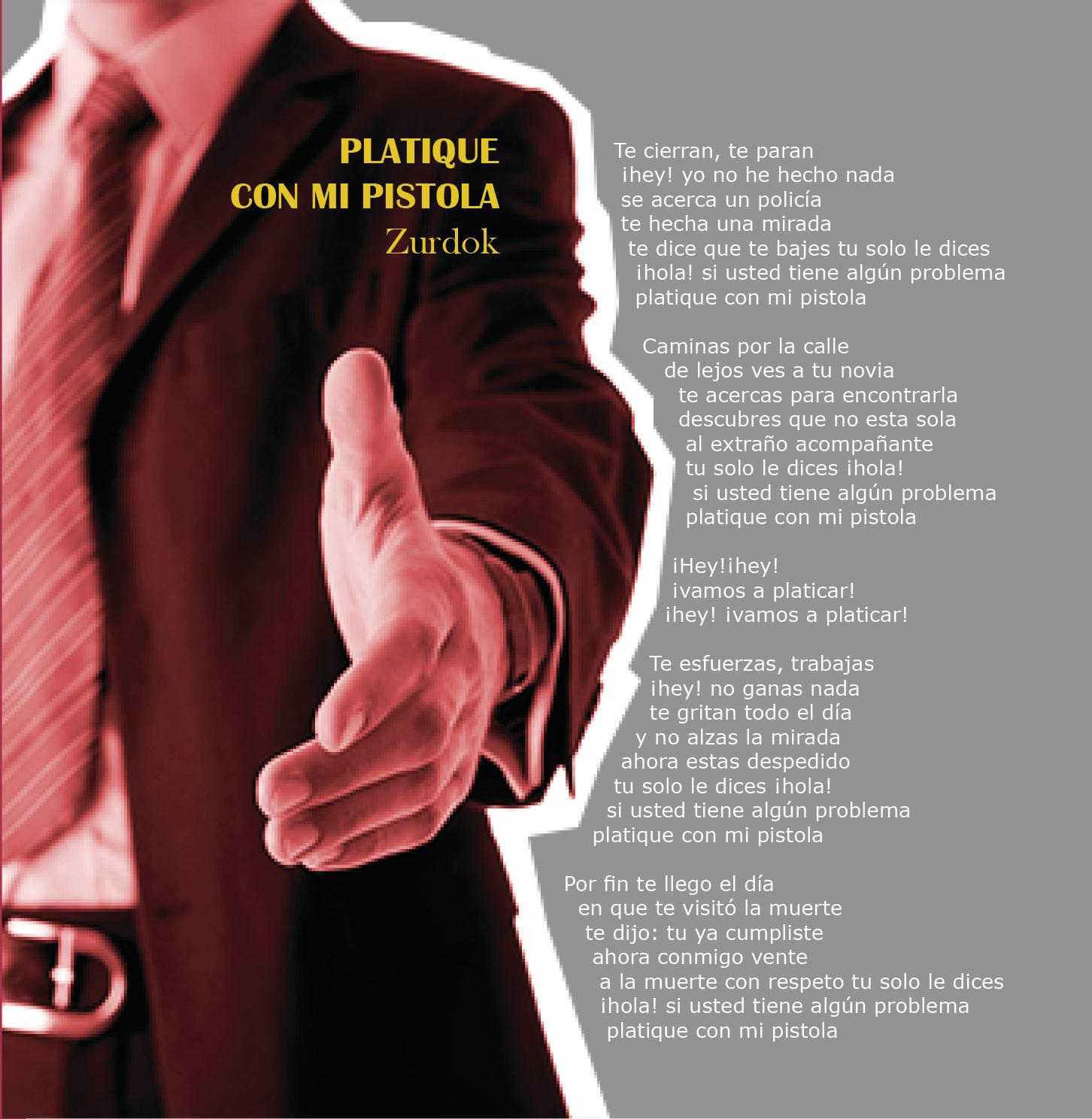 Página libro del disco