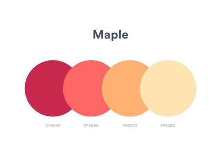 10 Increíbles Paletas de Colores Para tu Próximo Proyecto de Diseño.