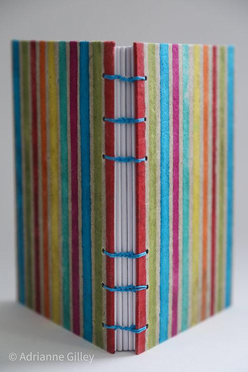 Rainbow Coptic Bound Journal