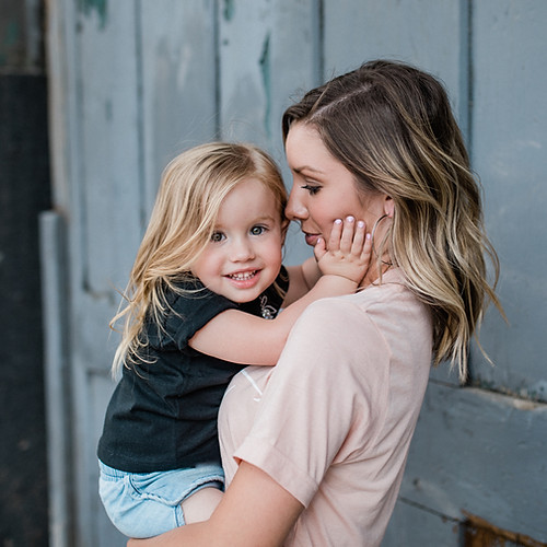 Blaire and Baillie | Mommy + Me