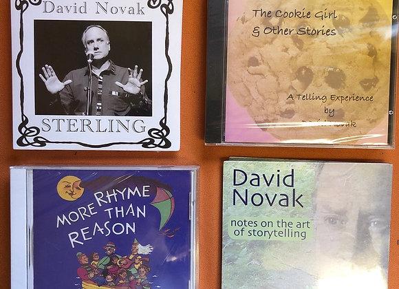David Novak's Story Telling CD's