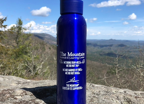 Metal Mountain Water Bottle