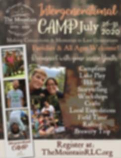 Intergenerationa Camp