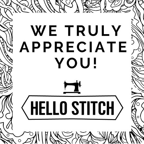 Contribute to Hello Stitch