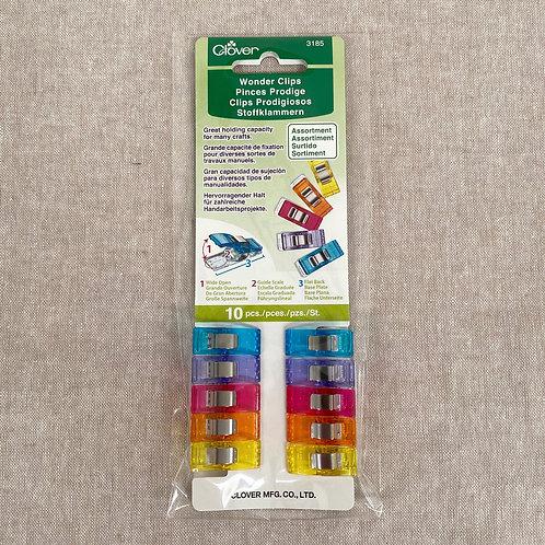Wonder Clips - 10 Piece Rainbow Colors