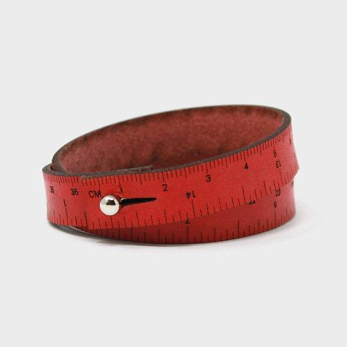 Wrist Ruler Bracelet - Red