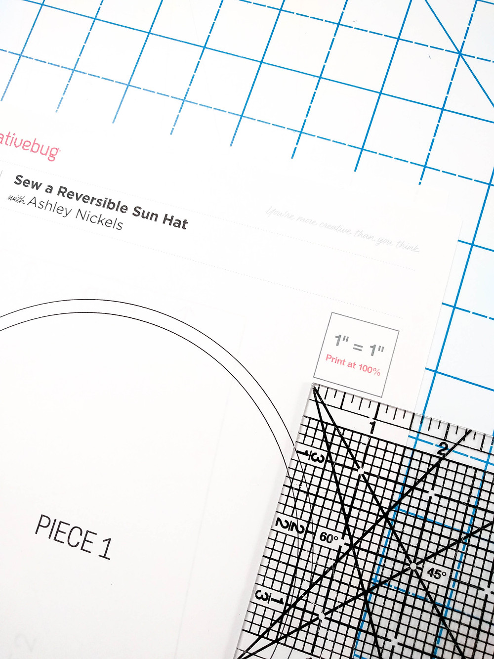 How to put together a PDF Pattern
