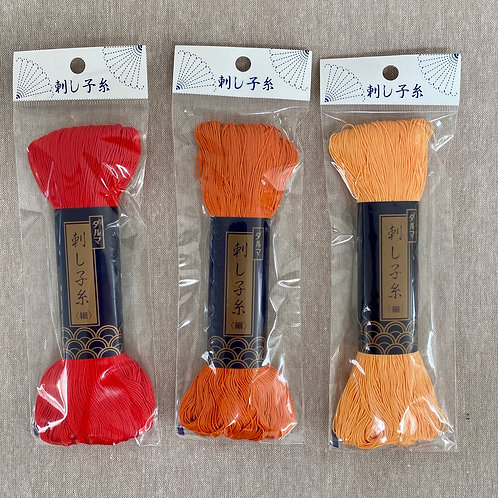 Yokota Sashiko Thread 170m - Fire Collection