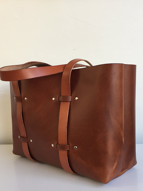 leather tote bag class