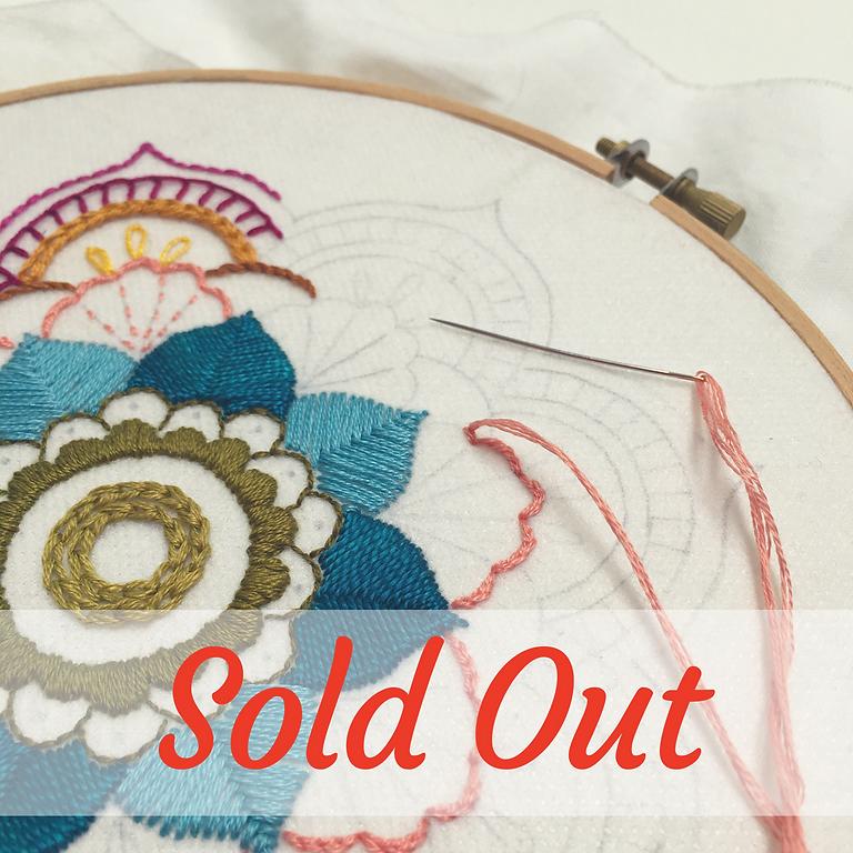 Mandala Embroidery Class