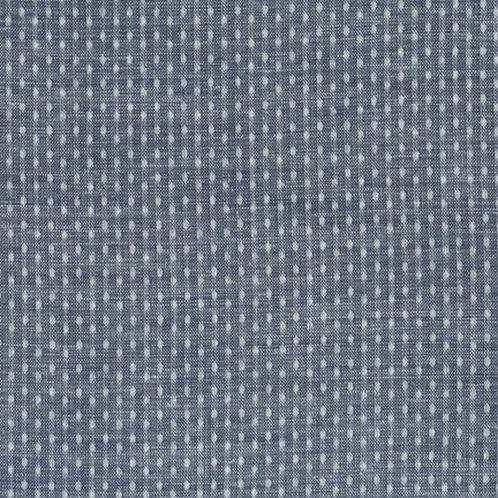 Indigo Chambray - Dot Weave