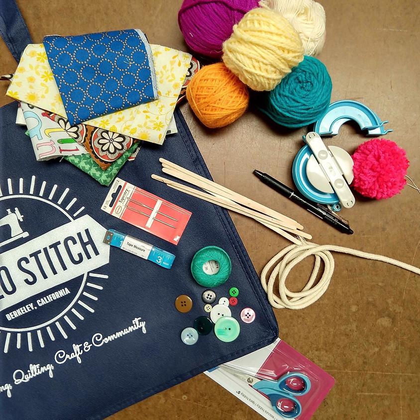 ONLINE Summer Camp: Yarn Maker Mania | July 13-17