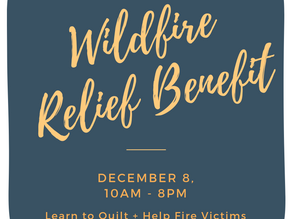 Sew Together for California Wildfire Relief